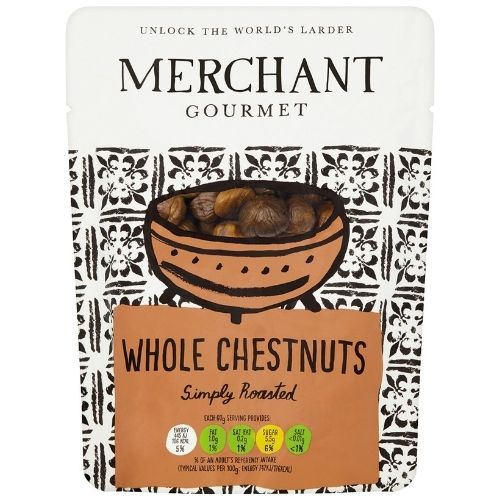 Gourmet Roasted Whole Chestnuts