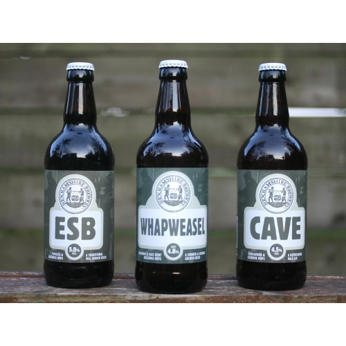 Hexhamshire Brewery Ales - 3 for £7