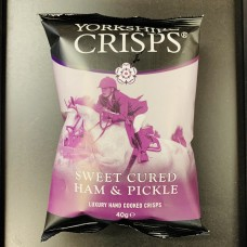 York Crisps - Ham & Pickle 40g