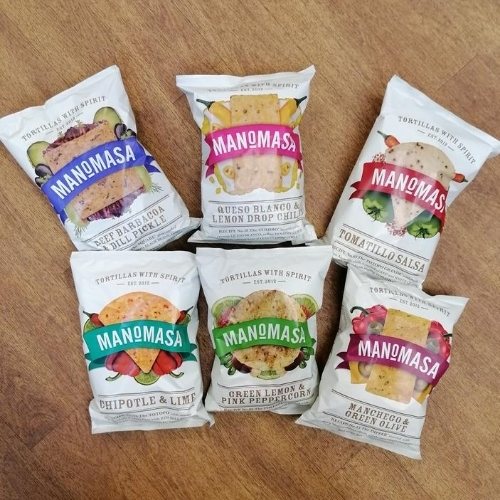 Manomasa Tortilla Chips 160g