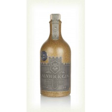 Alnwick Gin Brown Stoneware Bottle 50cl