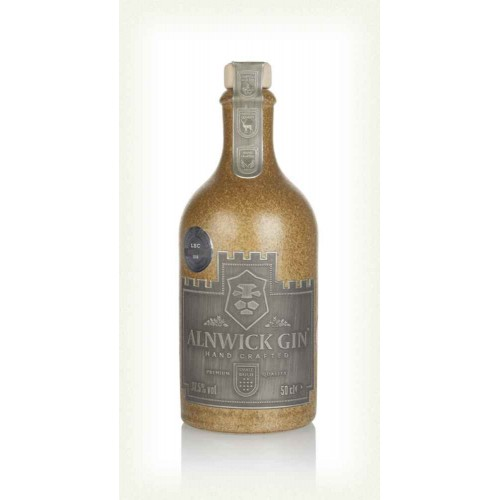 Alnwick Gin Brown Stoneware Bottle 50cl