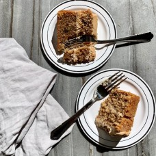 Whole Coffee & Walnut Cake
