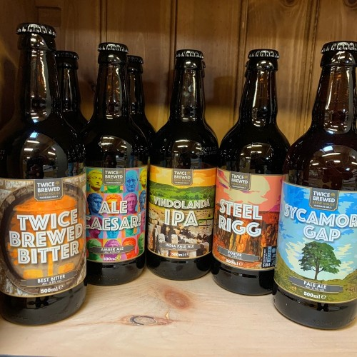 Twice Brewed Brewhouse Ales - 3 for £8.50